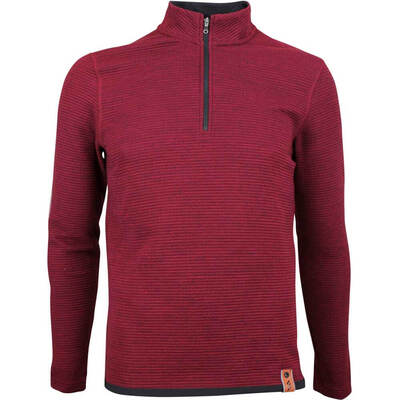 Adidas Golf Pullover Adicross Fleece Burgundy AW18