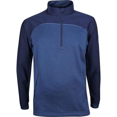 Adidas Golf Pullover Go To Quarter Zip Collegiate Navy AW18