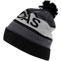 Image of Adidas Golf Hat - Wordmark Pom Beanie - Black AW18