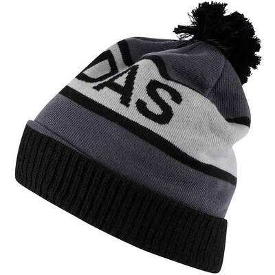 Adidas Golf Hat Wordmark Pom Beanie Black AW18