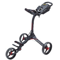 BagBoy Compact 3 Golf Trolley - Black/Red