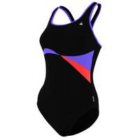 Aqua Sphere Maputo Ladies Swimsuit - Black/Purple, 40