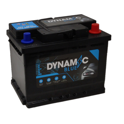 Dynamic Blue 027 Citroen C2 Petrol 1.4 - 2003 to Present - Car Battery