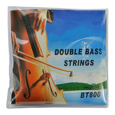 1/2 Double Bass String Set Nickel Chromium Wound with Steel Core by Sotendo
