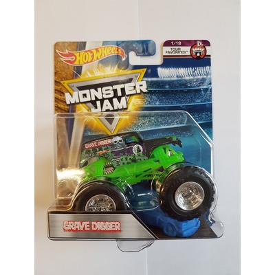 Hot Wheels Monster Jam   Grave Digger   Tour Favorites 1/19