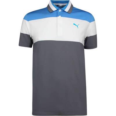PUMA Golf Shirt Nineties Azure Blue SS19