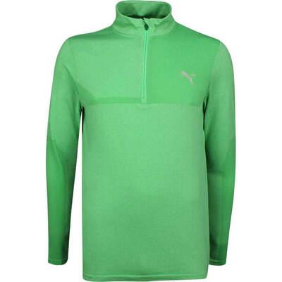 PUMA Golf Pullover Evoknit QZ Irish Green SS19