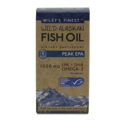Wiley's Finest Peak EPA Fish Oil 60 Capsules