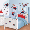 Spiderman Wall Sticker Kit with Height Chart
