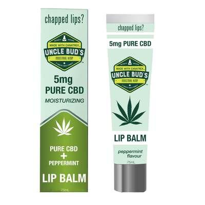 Uncle Buds Pure CBD Lip Balm 75ml