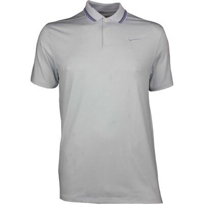 Nike Golf Shirt Vapor Control Stripe Pure Platinum SS19