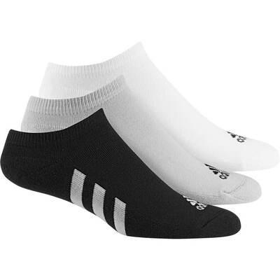 Adidas Golf Socks 3 Pack No Show Neutral Multi SS19