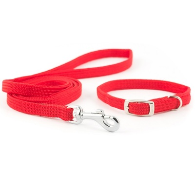 Ancol Small Bite Softweave Collar & Lead Set