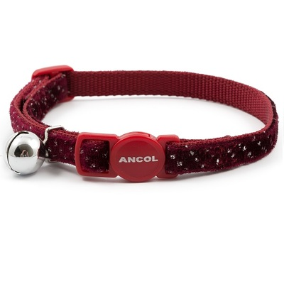 Ancol Velvet Sparkle Cat Collars