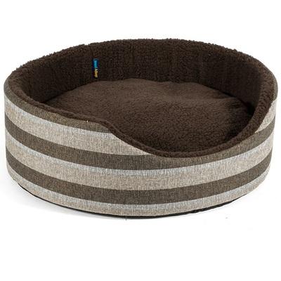 Ancol Tawny Stripe Oval Beds