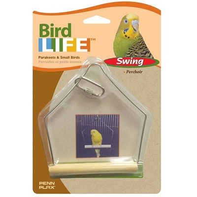 Penn Plax Bird Life Wooden Swing