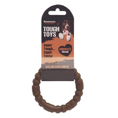 Rosewood Chocolate Nylon Ring Dog Chew