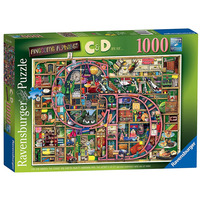 Image of Ravensburger Colin Thompson - Awesome Alphabet C & D, 1000pc Jigsaw Puzzle