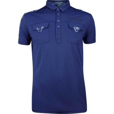 Galvin Green EDGE Golf Shirt Colonel Navy 2019