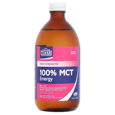 Tiana 100% MCT Energy 500ml