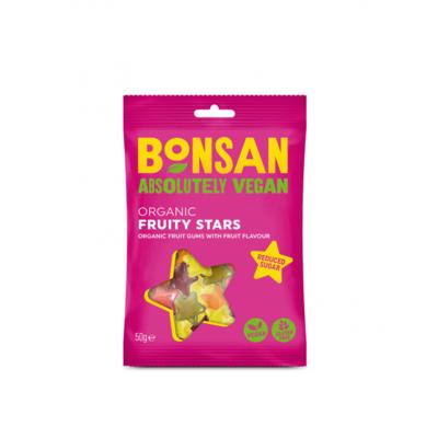 Bonsan Organic Fruity Stars 50g