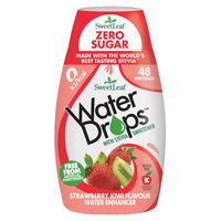 Natural Stevia Water Drops Strawberry & Kiwi 48ml