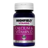 Calcium & Vitamin D 60's
