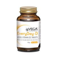 EveryDay-D 400IU Vitamin D3 100's