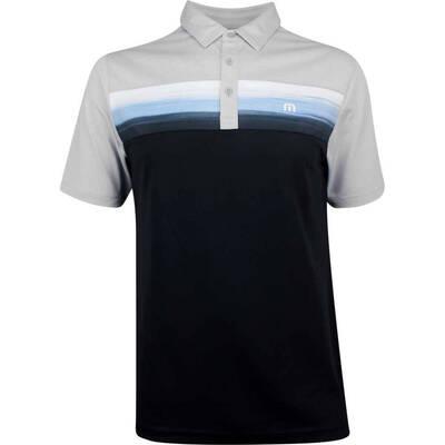 TravisMathew Golf Shirt Wiz With Polo Heather Microchip SS19