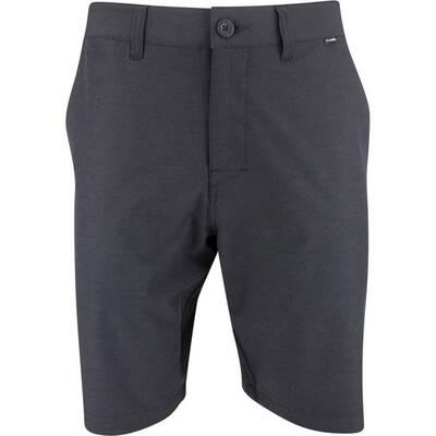 TravisMathew Golf Shorts Beck Performance Black SS20