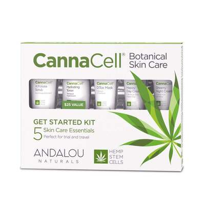 Andalou Naturals CannaCell Botanical Get Started Kit