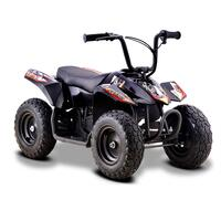 Image of Funbikes 24v 250w Bambino Black Kids Electric Quad Bike