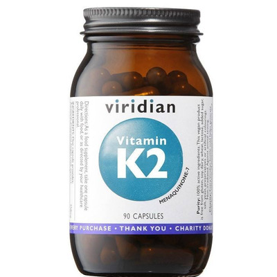 Viridian Vitamin K2 50ug 90 Capsules
