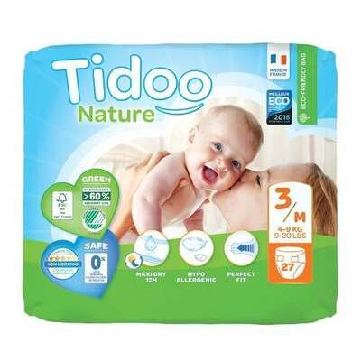Tidoo Nappies Size 3 - 27 Nappies