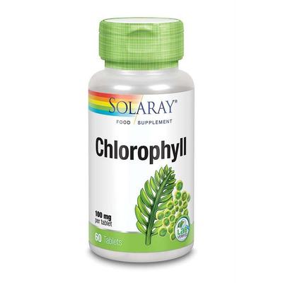 Solaray Chlorophyll 100mg 90 Tablets