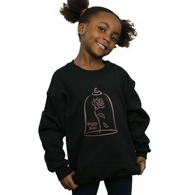 disney princess girls princess rose gold sweatshirt