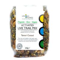 Activated Live Trail Mix Tamari Coated (Organic) 125g
