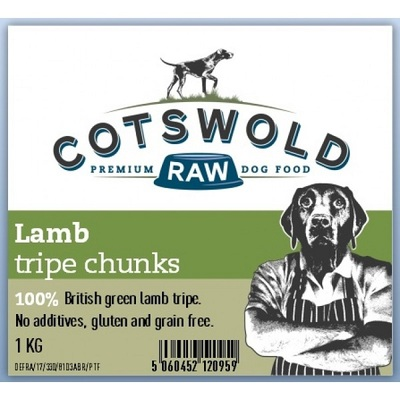 Cotswold Lamb Tripe Chunks Dog Treat