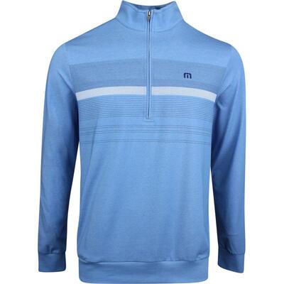 TravisMathew Golf Jumper Blue Blood HZ Parisian Blue SS19