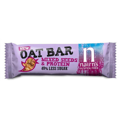 Nairn's Gluten Free Mixed Seeds & Protein Oat Bars - Pack of 20