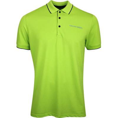 Galvin Green Golf Shirt Marty Tour Lime SS20