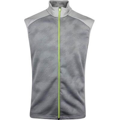 Galvin Green Golf Vest Diaz Insula Sharkskin AW19