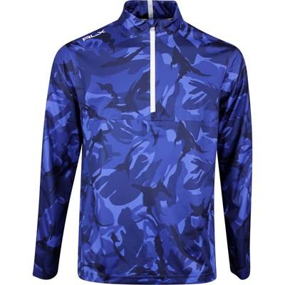 RLX Golf Jacket Stratus Unlined HZ Blue Elmwood Camo AW19
