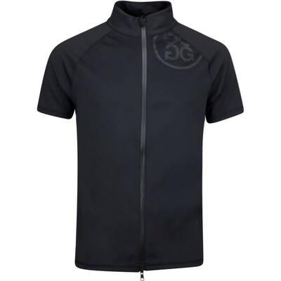GFORE Golf Jacket Short Sleeve Mid FZ Onyx AW19