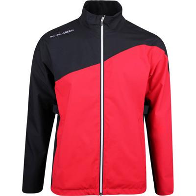 Galvin Green Waterproof Golf Jacket Aaron Red SS20