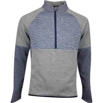 adidas Golf Jacket Frostguard QZ Legend Earth HTR AW19