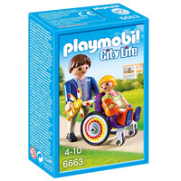 Image of Playmobil Child in Wheelchair