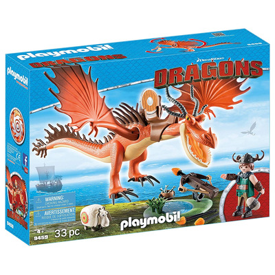Playmobil DreamWorks Dragons Snotlout And Hookfang