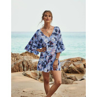 Rosa Faia By Anita Akalani Beach Dress Kaftan