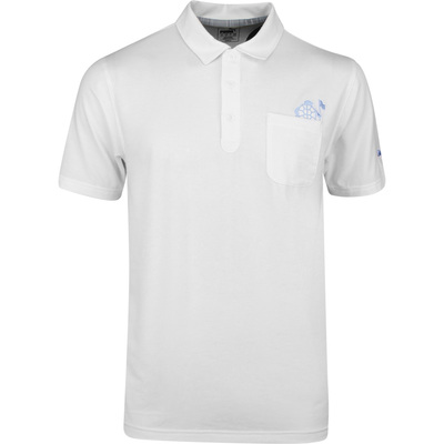 PUMA Golf Shirt Slow Play Pocket Polo Bright White SS20